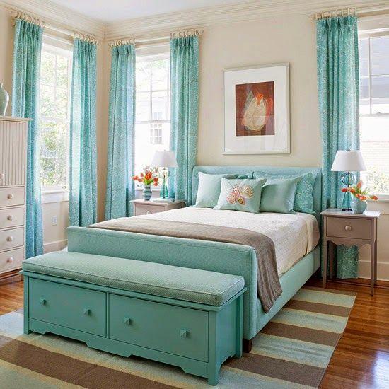 50 Shades The Best Of Aqua Home Decor Design Ložnic