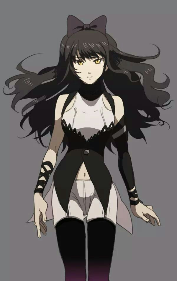 """Rp? I'm Blake be an oc any gender )) I walked slowly through Beacon, staring at the entrance to my next class. Occupied with a book in hand, I didn't notice you walking towards me. I slammed into you and fell back, instantly correcting myself. """"Sorry, I didn't see you,"""" I apologize quietly."""