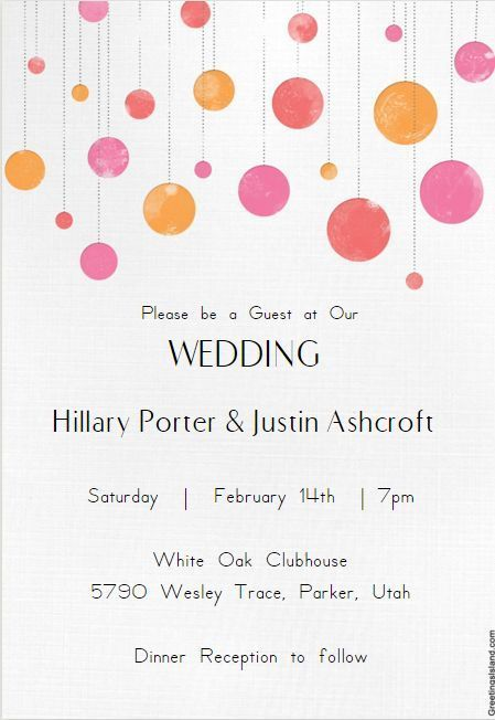 Best 25+ Free wedding invitation templates ideas on Pinterest - dinner invitations templates