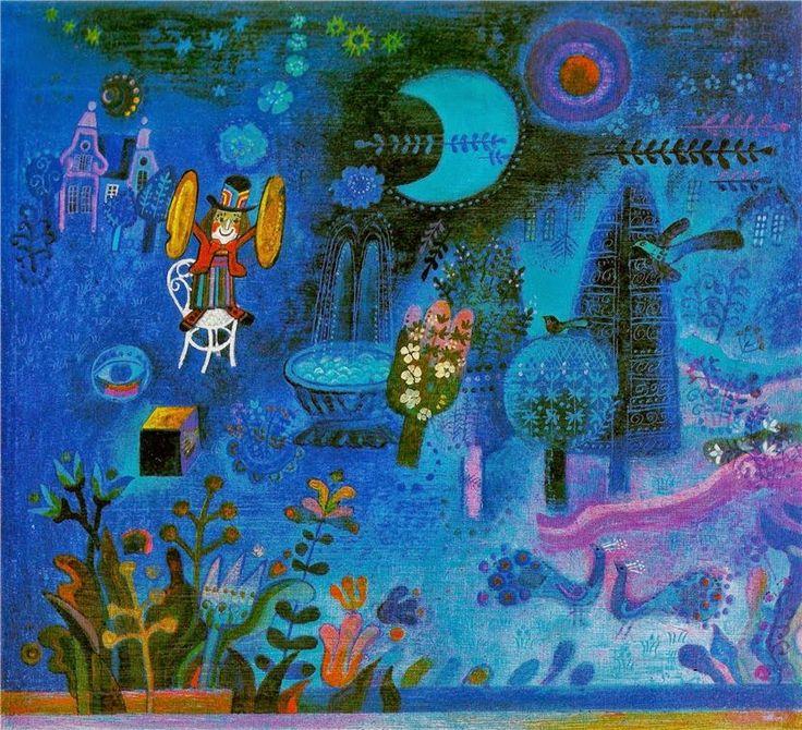 con los ojos cerraos se ve to naranja: ¿INSPIRACIÓN U HOMENAJE? Marc Chagall versus Josef Palecek y Nasrin Khosravi