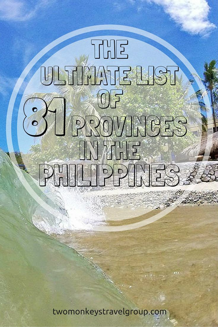 Provinces in the Philippines