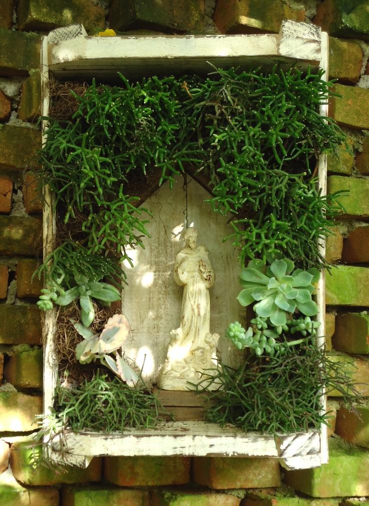 oratório com mini garden