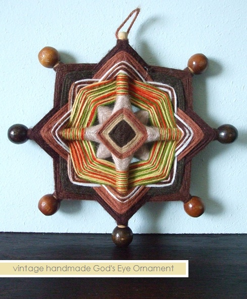 I totally forgot about the woven God's Eye craft!  I must have made a million of these as a kid!!!