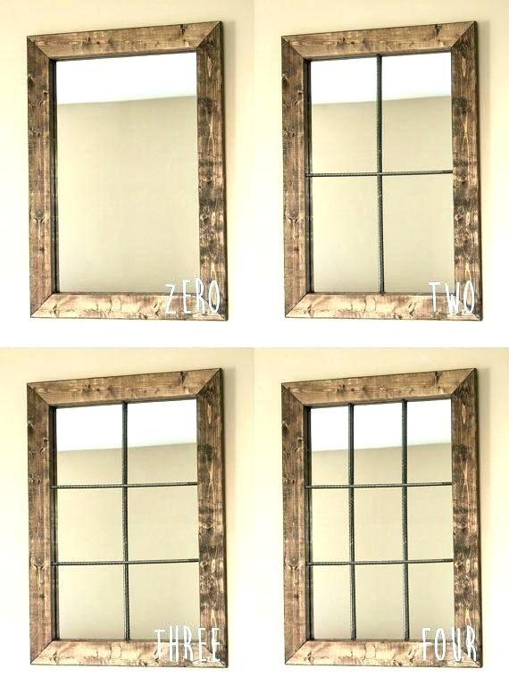 Diy Window Pane Mirror Old Window Pane Window Pane Wall Decor 8