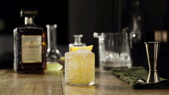 Disaronno sour...one of my favs.