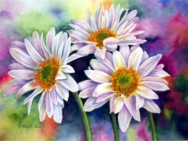 Mary C Stealey     Watercolor