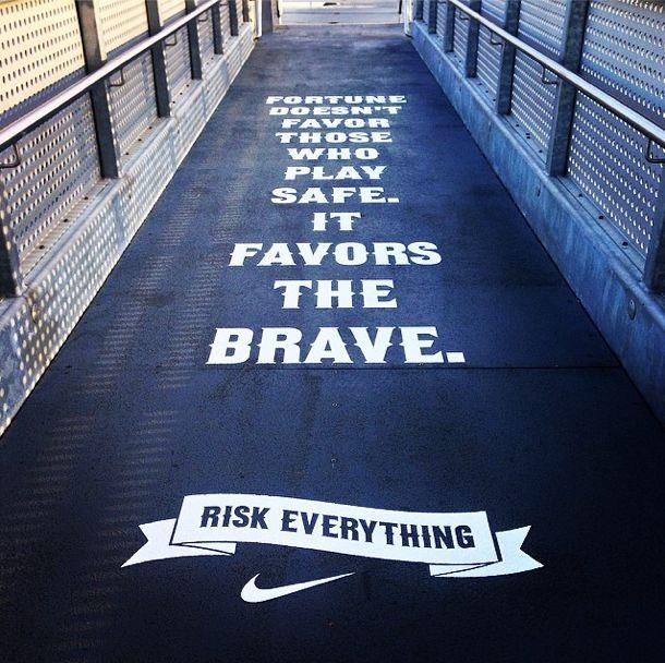 Risk Everything Nike Soccer