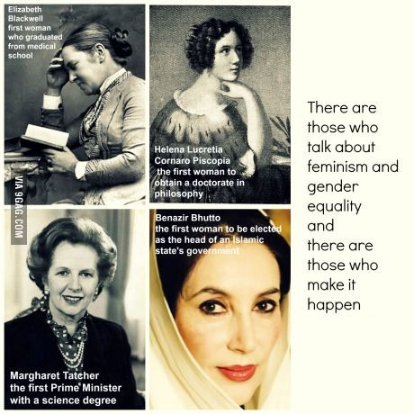 About feminism and gender equality
