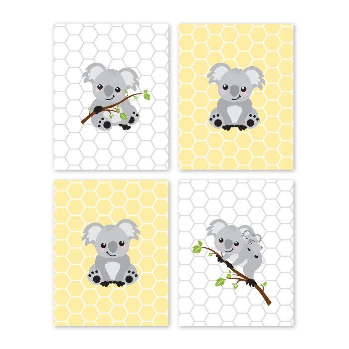 22 best Koala Room images on Pinterest | Kids prints, Koala bears ...