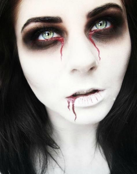 maquillage halloween facile a faire