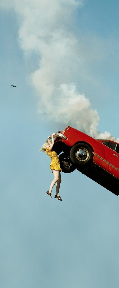 to do list...take the car in to have it looked at... it's making a noise. | Photo Series by Alex Prager - My Modern Metropolis