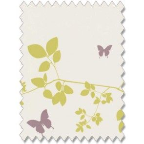Vine and Butterfly Spring Roller Blind