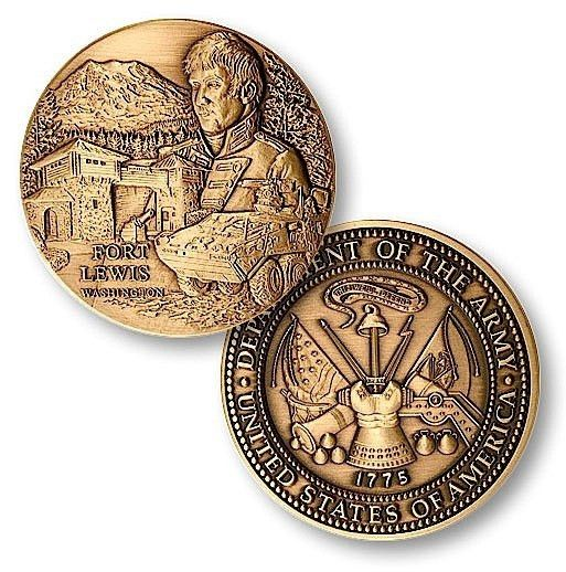 Fort Lewis Challenge Coin