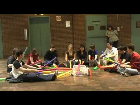 Carol of the Bells - The Boomwhacker Orchestra Way cool!