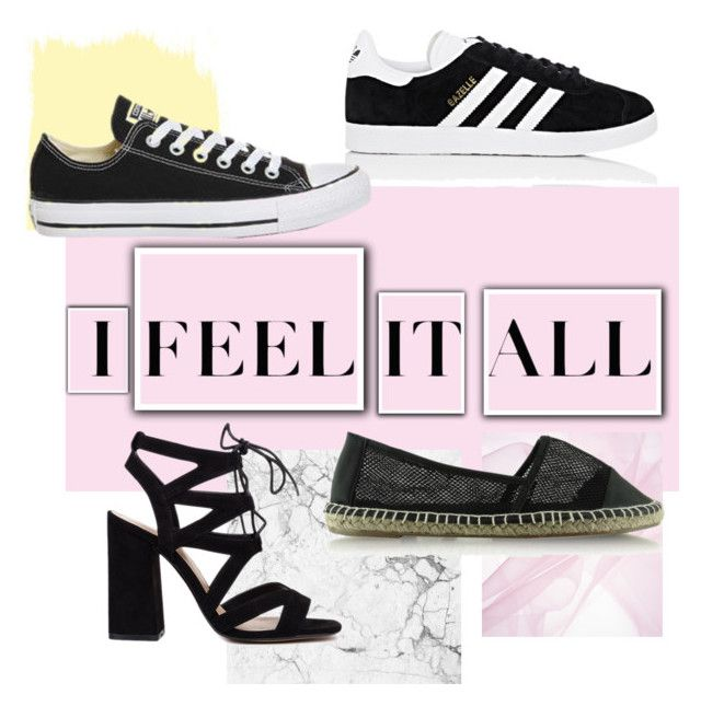 """""""Perfect ✔️👟"""" by oliwiajankowska on Polyvore featuring moda, adidas i Topshop"""