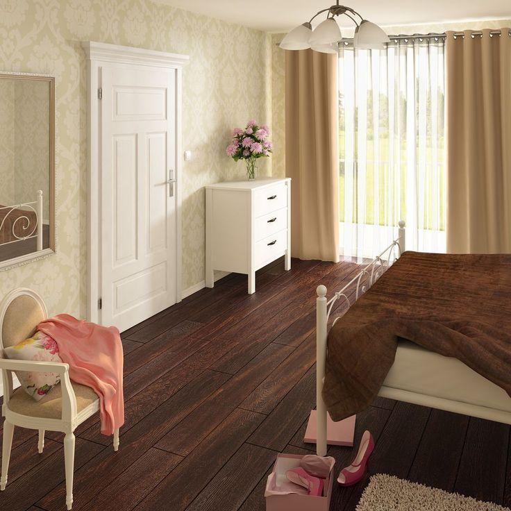 Drzwi wewnętrzne drewniane - pokojowe, łazienkowe i do kuchni - nowoczesne drzwi wewnętrzne w Leroy Merlin