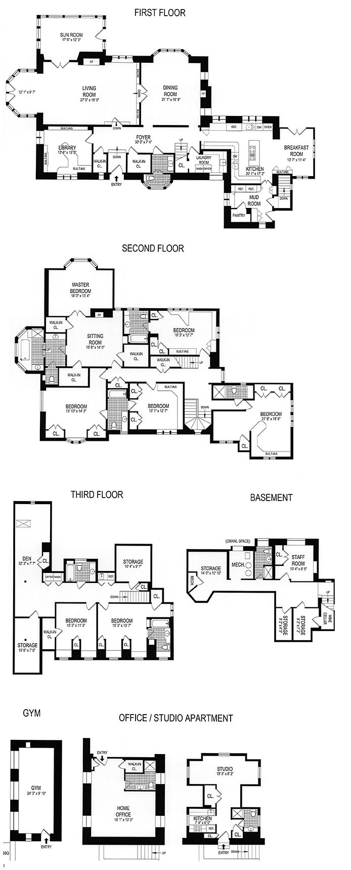 102 best townhouse floor plans images on pinterest floor plans in riverdale bronx