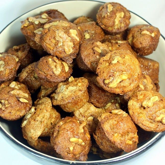 Inspired By eRecipeCards: APPLE PIE Mini-Muffins - 52 Church PotLuck Breakfast Catering Recipes