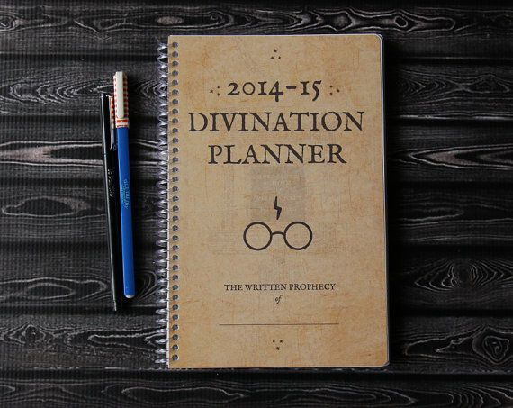 Harry Potter 2014-2015 Planner - Pick Your Starting Month (Not for me, but a great gift for quite a few friends of mine!)