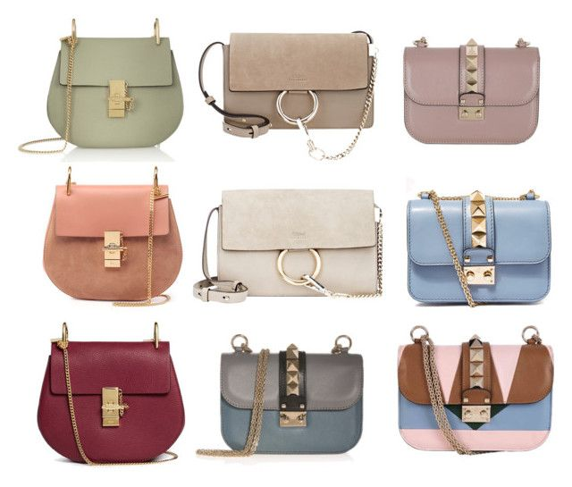 """Chloé and Valentino bag heaven"" by lilyks on Polyvore featuring Chloé and Valentino"