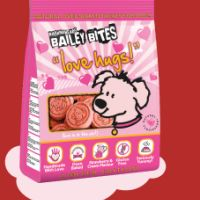 Be in with a chance to win some Valentine's Day treats for your canine friend.