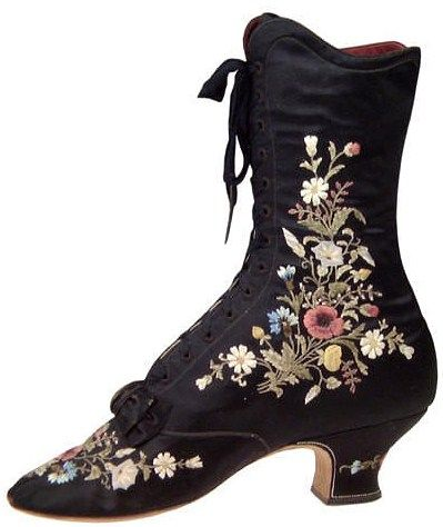 Victorian boot                                                                                                                                                     More