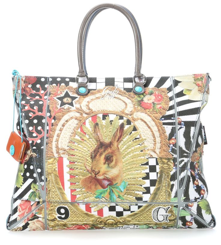 Cyndi Studio Handbag multicolour 44 cm