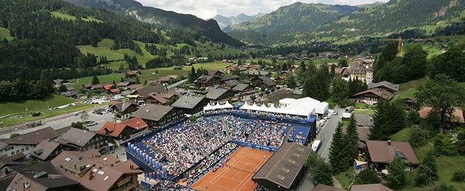 ATP World Tour 250 Tennis Tournament - Allianz Suisse Open Gstaad - Gstaad, Switzerland