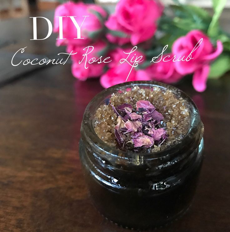 DIY Coconut Rose Lip Scrub - Vegan Beauty Review | Vegan and Cruelty-Free Beauty, Fashion, Food, and Lifestyle
