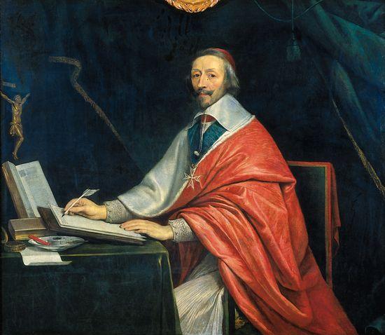 Philippe de Champaigne, le cardinal de Richelieu, 1635, Paris, Musée du Louvre
