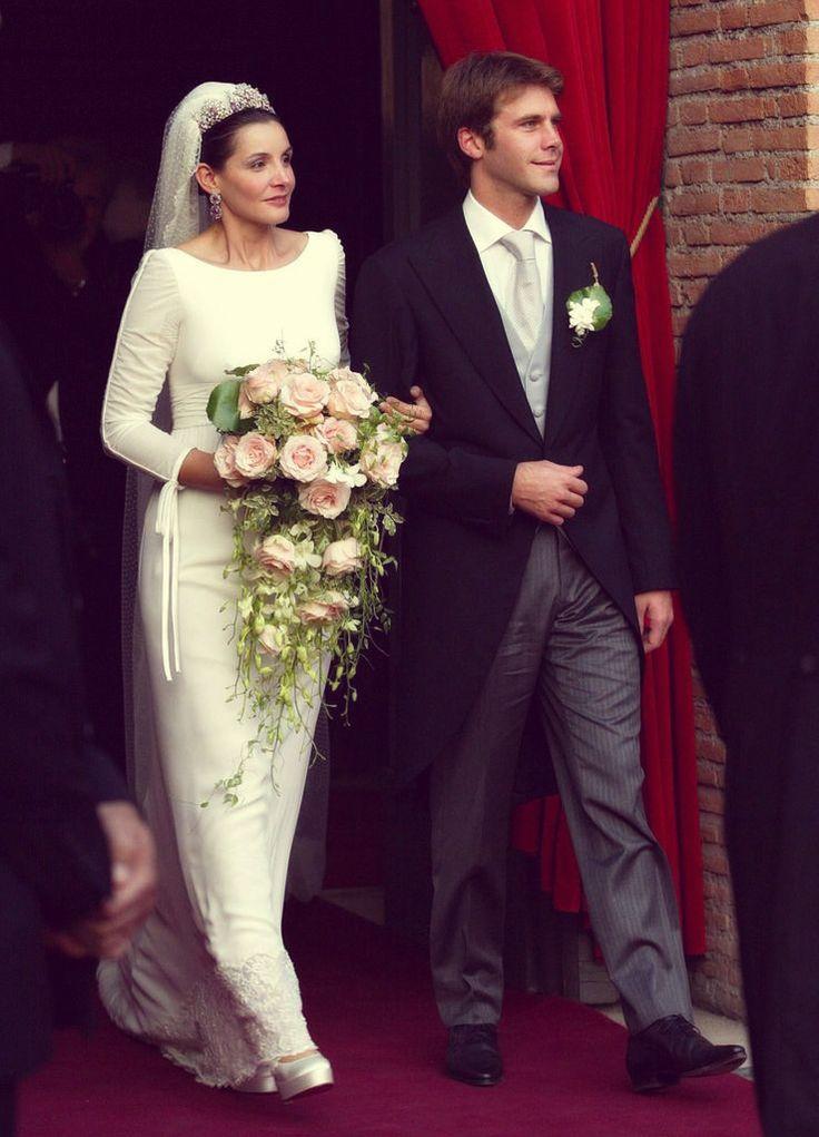 Clotilde Courau and Prince Emanuele Filiberto