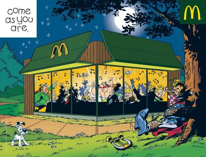 McDonald's, venez comme vous êtes : Astérix et Obélix