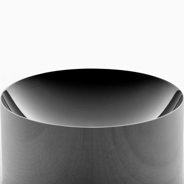 Detail of Minimalux Black Nickel Dish