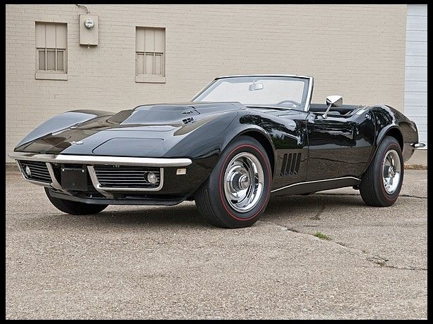 1968 Chevrolet Corvette L88 Convertible 1 of Only 3 Black L88 Convertibles Produced