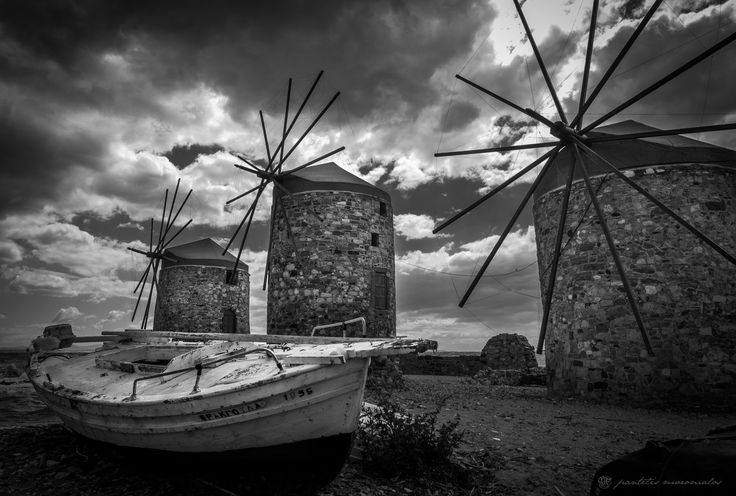 Three Wind Mills by pmoromalos on 500px
