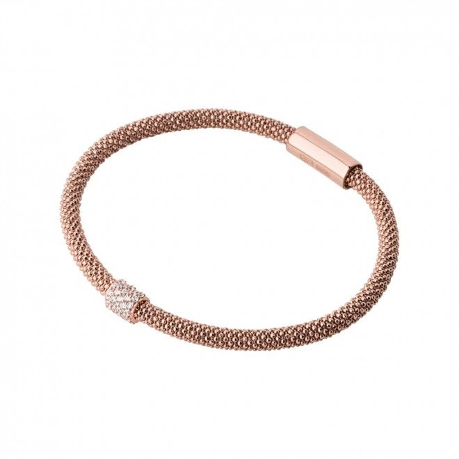 Links of London Star Dust Rose Gold Plate Bead Bracelet