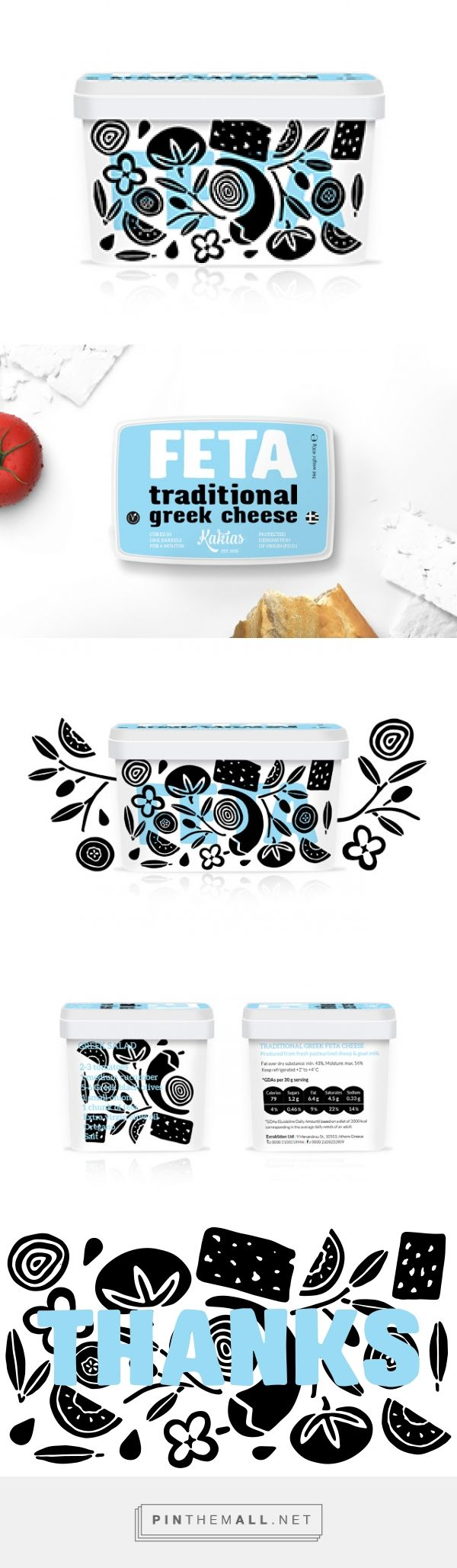 Kakias - Feta Cheese         on          Packaging of the World - Creative Package Design Gallery - created via https://pinthemall.net