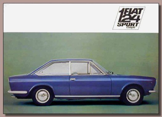 Fiat 124S Coup