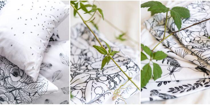 Folia, botanical inspired gifts  #botanical #natureinspired #textiles