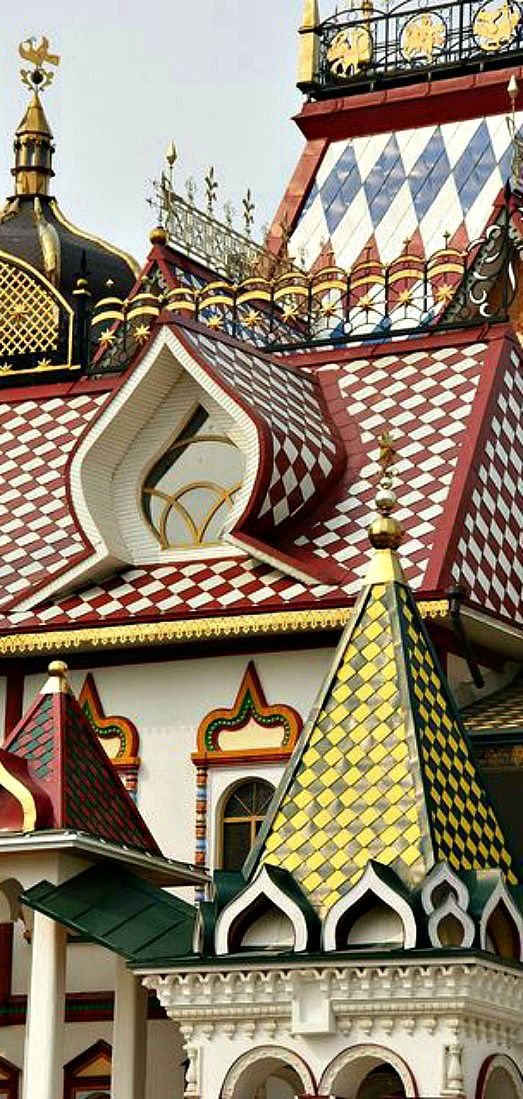 Spend an afternoon photographing rooftops in the historical Izmailovo Kremlin District of Moscow, Russia