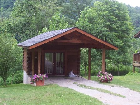 Log Carport With Storage Bing Images Carports