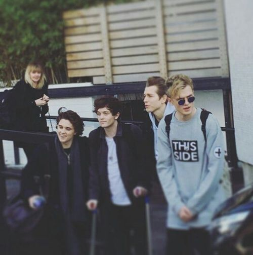 the vamps, tristan evans, and bradley will simpson image