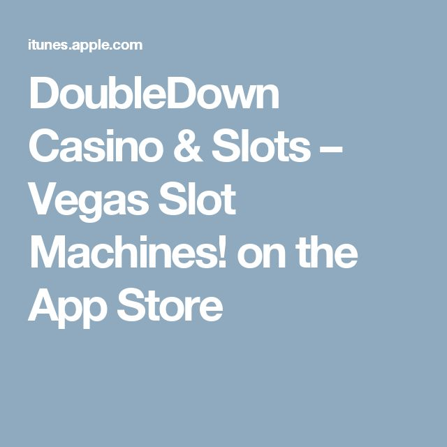 double down casino best slot machine