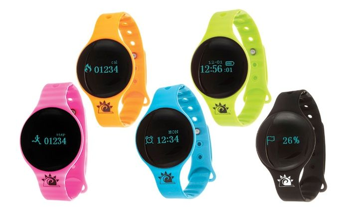 Zunammy Activity Fitness Tracker Bluetooth Watch with Tap-Screen Display