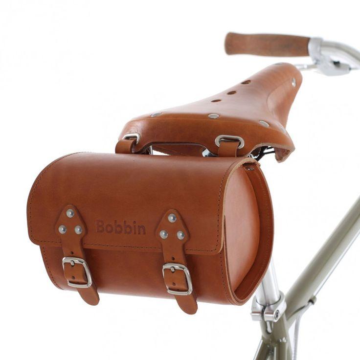 Bobbin Leather Saddle Bag | Cyclechic | Cyclechic