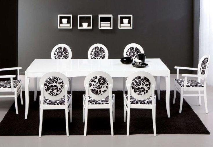 Fresco of Get Timeless Look With White Dining Room Sets