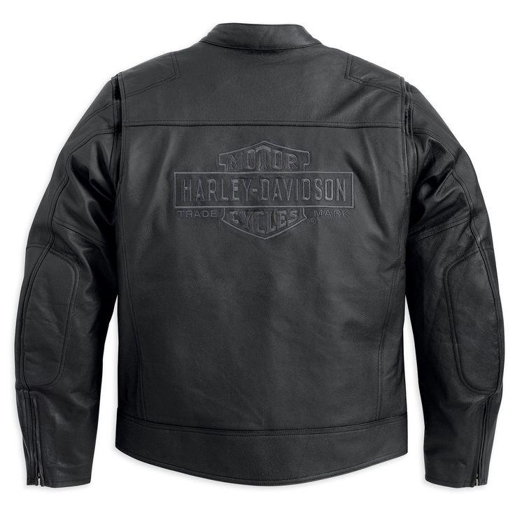 "Harley Davidson Leather Coats | Harley-Davidson Traditional Leather Jacket Black Medium 38""- 41"" Chest ..."