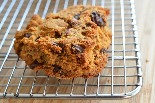 **Try this one first** Chocolate Cherry Scones -- uses butter (frozen). Very detailed recipe with photos and hands-on mixing.