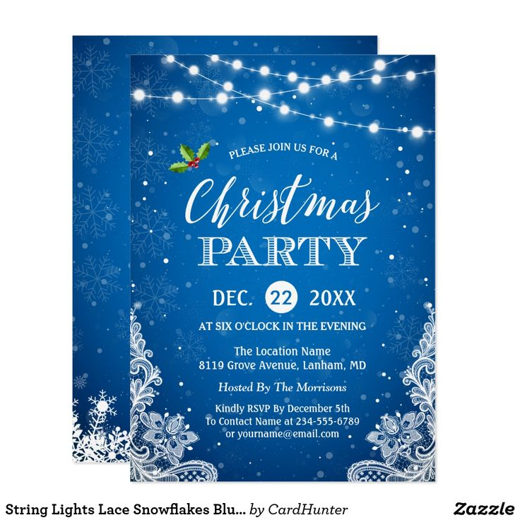 The 25+ best Christmas party invitation template ideas on - company party invitation templates