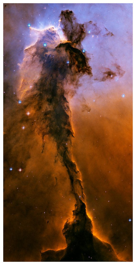 Eagle Spire Nebula Outer Space Wall Mural Art by BooksmartStudio, $700.00